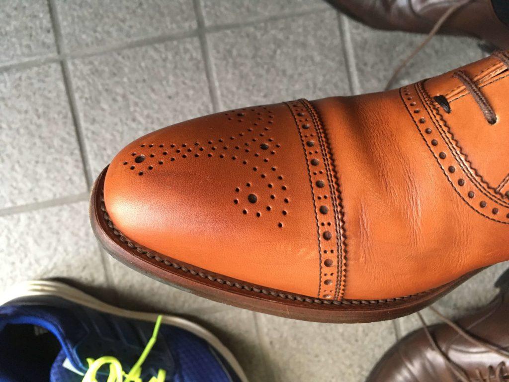 革靴 黒ズミ キレイ