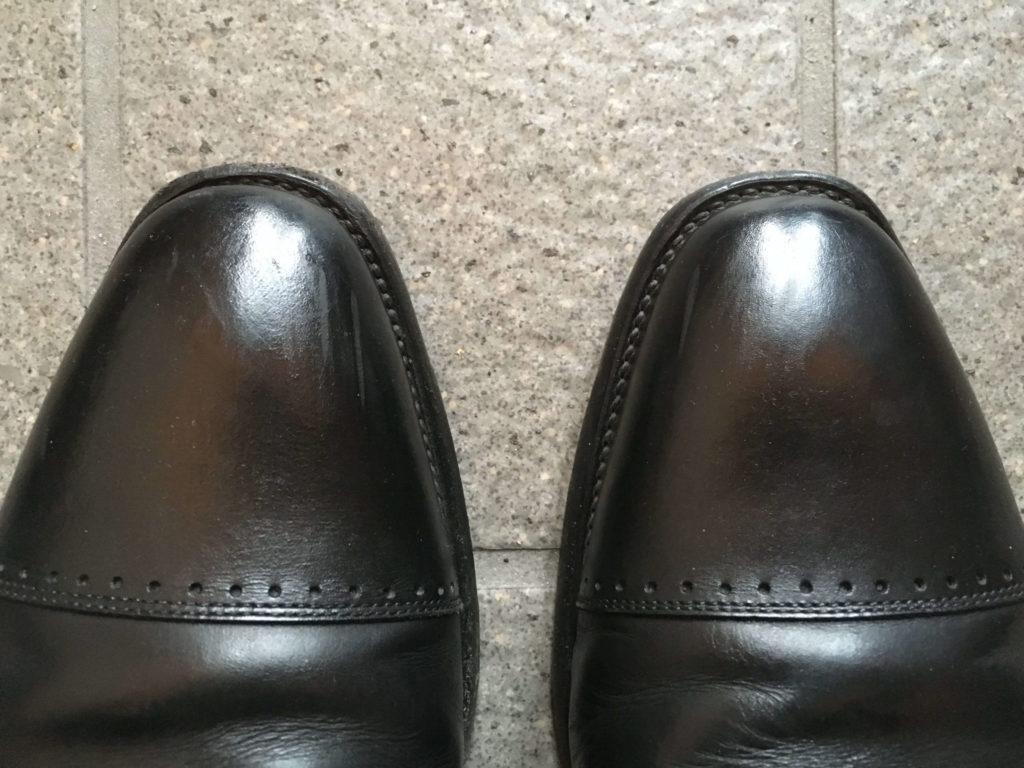 革靴 汚れ