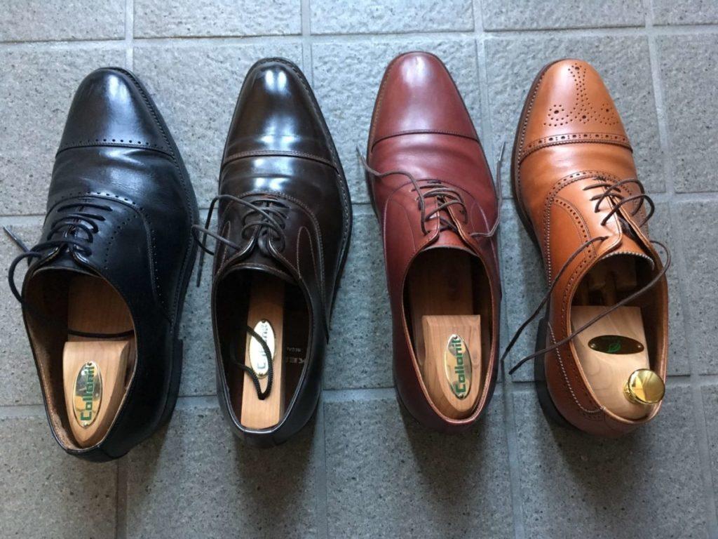 革靴 並べ