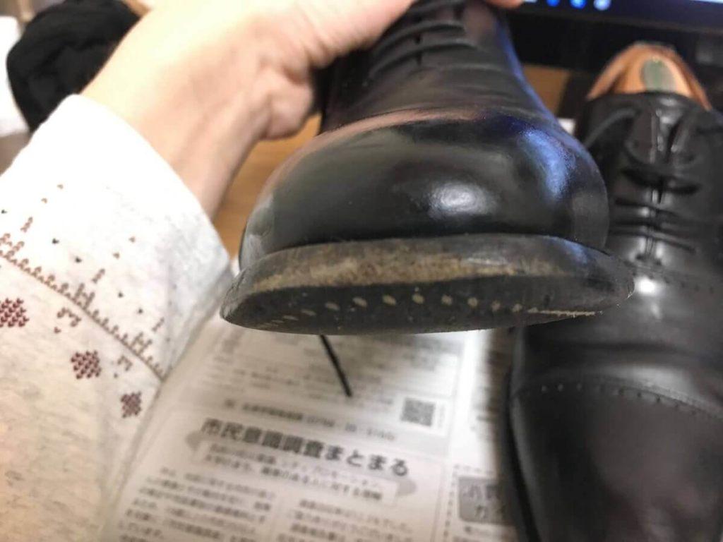 革靴 ソール