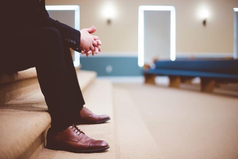 革靴 ビジネスマン