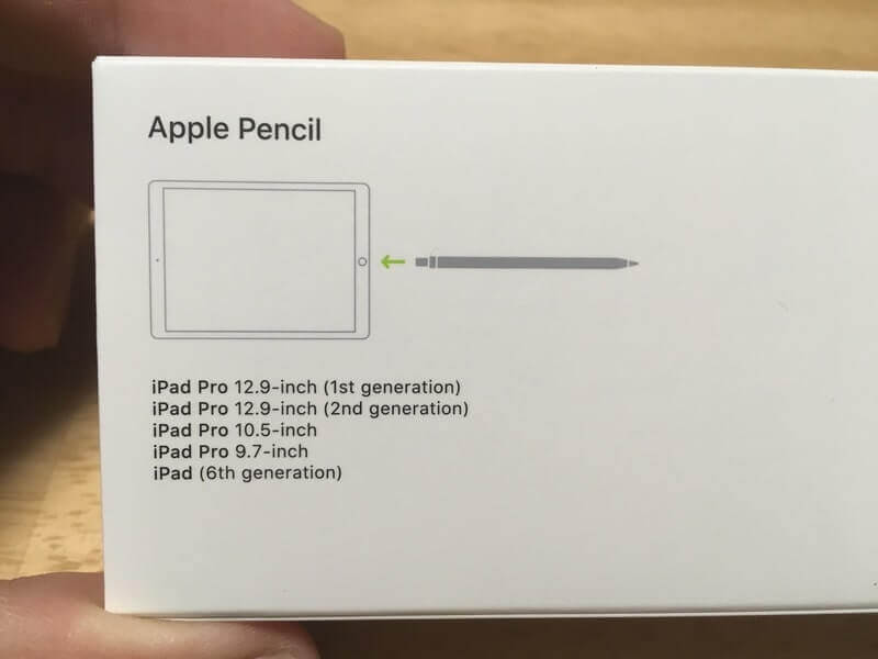 Apple Pencil 外箱